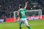 08.03.2019, Weser Stadion, Bremen, GER, 1.FBL, Werder Bremen vs FC Schalke 04, <br /> <br /> DFL REGULATIONS PROHIBIT ANY USE OF PHOTOGRAPHS AS IMAGE SEQUENCES AND/OR QUASI-VIDEO.<br /> <br />  im Bild<br /> <br /> jubel Max Kruse (Werder Bremen #10)<br /> <br /> Foto &copy; nordphoto / Kokenge
