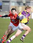 Louth Brian White Wexford PJ Banville. Photo:Colin Bell/pressphotos.ie