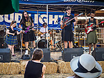 Tempest band plays on the stage during the opening day of the 80th Amador County Fair, Plymouth, Calif.<br /> .<br /> .<br /> .<br /> #AmadorCountyFair, #1SmallCounty Fair, #PlymouthCalifornia, #TourAmador, #VisitAmador
