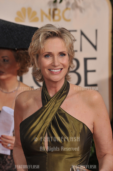 Jane Lynch at the 67th Golden Globe Awards at the Beverly Hilton Hotel..January 17, 2010  Beverly Hills, CA.Picture: Paul Smith / Featureflash