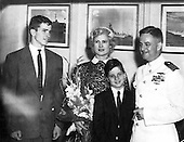 Washington, DC - (FILE) -- Family portrait from the office of United States Senator John McCain (Republican of Arizona), the presumptive Republican nominee for President of the United States in 2008, showing the Senator and his family circa 1951. Left to right:  John, Roberta, Joe, John S. McCain, Jr..Credit: Courtesy Sen. McCain via CNP