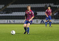 Jon Scullion in the St Mirren v Motherwell Clydesdale Bank Scottish Premier League U20 match played at St Mirren Park, Paisley on 10.9.12.