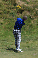 Jimmy Nesbitt (AM) on the 4th during the Pro-Am of the Irish Open at LaHinch Golf Club, LaHinch, Co. Clare on Wednesday 3rd July 2019.<br /> Picture:  Thos Caffrey / Golffile<br /> <br /> All photos usage must carry mandatory copyright credit (© Golffile | Thos Caffrey)