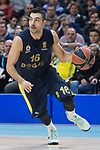 Fenerbahce Dogus Kostas Sloukas during Turkish Airlines Euroleague match between Real Madrid and Fenerbahce Dogus at Wizink Center in Madrid , Spain. March 02, 2018. (ALTERPHOTOS/Borja B.Hojas)