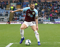Burnley's Phillip Bardsley<br /> <br /> Photographer Rich Linley/CameraSport<br /> <br /> The Premier League - Burnley v Leicester City - Saturday 16th March 2019 - Turf Moor - Burnley<br /> <br /> World Copyright © 2019 CameraSport. All rights reserved. 43 Linden Ave. Countesthorpe. Leicester. England. LE8 5PG - Tel: +44 (0) 116 277 4147 - admin@camerasport.com - www.camerasport.com