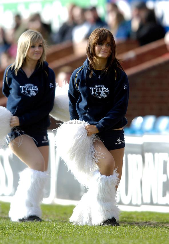 Photo: Jed Wee/Sportsbeat Images..Leeds Tykes v Waterloo. National League 1. 11/03/2007...Leeds' Tykes dancers, cheerleaders.