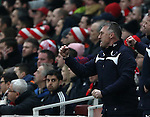 Leicester's Nigel Pearson looks on <br /> <br /> Barclays Premier League- Arsenal vs Leicester City  - Emirates Stadium - England - 10th February 2015 - Picture David Klein/Sportimage
