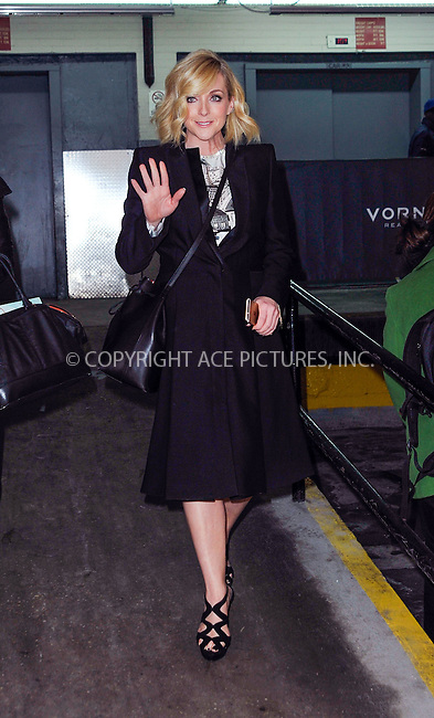 WWW.ACEPIXS.COM<br /> <br /> March 13 2015, New York City<br /> <br /> Actress Jane Krakowski made an appearance at 'The Huffington Post' on March 13 2015 in New York City.<br /> <br /> <br /> Please byline: Curtis Means/ACE Pictures<br /> <br /> ACE Pictures, Inc.<br /> www.acepixs.com, Email: info@acepixs.com<br /> Tel: 646 769 0430