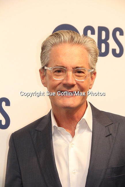 Kyle MacLachlan - Desperate Houewives, Twiin Peaks, Sex & The City - CBS Upfront 2019 held in New York City at the Todd English Food Hall on May 15, 2019 with new fall shows  - Bob Hearts Abishola, All Rise, The Unicorn, Carol's Second Act, Evil, Broke, FBI: Most Wanted, Love Island UK renewed The Neighborhood and newscasters from 60 Minutes, CBS This Morning, CBS News, Face The Nation. (Photo by Sue Coflin/Max Photos)