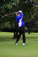 Sean Poucher (Limerick) on the 3rd tee during round 1 of The Mullingar Scratch Cup in Mullingar Golf Club on Sunday 3rd August 2014.<br /> Picture:  Thos Caffrey / www.golffile.ie