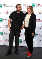 "L'attore Lauri Maiala e la  regista Selma Vilhuen posano durante un photocall per la presentazione del film ""Little Wing"" al Festival Internazionale del Film di Roma, 17 ottobre 2016.<br /> Actor Lauri Maiala and director Selma Vilhuen poses for a photocall to present the movie ""Little Wing"" during the international Rome Film Festival at Rome's Auditorium, 17 October 2016.<br /> UPDATE IMAGES PRESS/Isabella Bonotto"