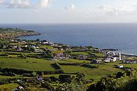 Praia do Almoxarife auf der Insel Faial, Azoren, Portugal