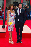 Jessica Wright and Ricky Rayment arriving for the World Premiere of 'The Amazing Spider-Man 2' at Odeon Leicester Square, London. 10/04/2014 Picture by: Dave Norton / Featureflash