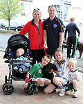 "Adam, Kate, Dylan, Alex, Ken, Anette and Ruby enjoying ""National Dog Walking Day"" at Petmania...(Photo credit should read Jenny Matthews www.newsfile.ie)....This Picture has been sent you under the conditions enclosed by:.Newsfile Ltd..The Studio,.Millmount Abbey,.Drogheda,.Co Meath..Ireland..Tel: +353(0)41-9871240.Fax: +353(0)41-9871260.GSM: +353(0)86-2500958.email: pictures@newsfile.ie.www.newsfile.ie."