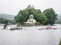 Henley Royal Regatta, Henley on Thames, Oxfordshire, 28 June - 2 July 2017.  Wednesday  09:02:49   28/06/2017  [Mandatory Credit/Intersport Images]<br /> <br /> Rowing, Henley Reach, Henley Royal Regatta.<br /> <br /> The first Race of the 2017 Regatta.<br /> The Thames Challenge Cup<br />  City of Oxford Rowing Club 'A' v  Thames Rowing Club 'B'
