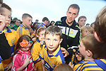 Clare Hurling fan Brian McNamara pictured at  the Open Training Night on Tuesday. Pic. Brian Arthur/ Press 22.