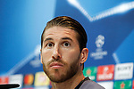 Real Madrid's Sergio Ramos in press conference after training session. May 9,2017.(ALTERPHOTOS/Acero)