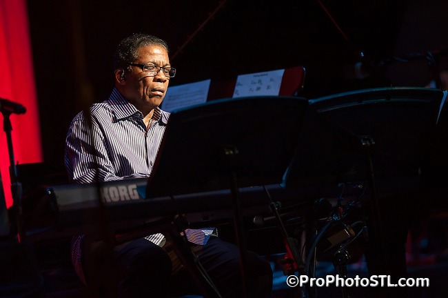 Herbie Hancock concert at Touhill in St. Louis, MO on March 18, 2012.