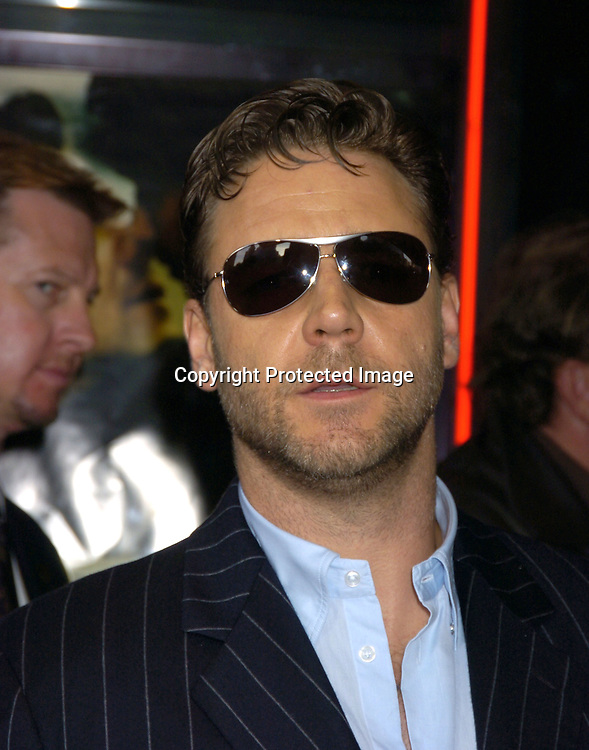 Russell Crowe ..at the New York Premiere of Cinderella Man to benefit The Children's Defense Fund on June 1, 2005 at The Loews Lincoln Square Theatre...Photo by Robin Platzer, Twin Images
