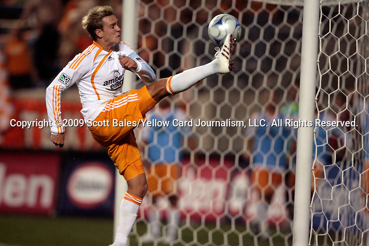 05 June 2009: Houston's Stuart Holden. The Houston Dynamo defeated the Chicago Fire 1-0 at Toyota Park in Bridgeview, Illinois in a regular season Major League Soccer game.