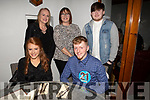 Brandon Begley from Castlegregory celebrating his 21st birthday in Bella Bia on Saturday night.<br /> Seated l to r: Brandon Begley and Isabelle Bailey.<br /> Back l to r: Michelle and Karol Hilliard and Shane O'Sullivan.