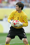 10 August 2008: Jacob Spoonley (NZL).  The men's Olympic soccer team of Brazil defeated the men's Olympic soccer team of New Zealand 5-0 at Shenyang Olympic Sports Center Wulihe Stadium in Shenyang, China in a Group C round-robin match in the Men's Olympic Football competition.
