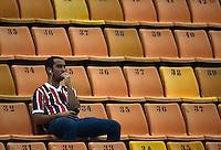 SAO PAULO SP, 07/03  MARCO 2013 - Libertadores da America - SAO PAULO X ARSENAL DE SARANDI  -  torcida  durante partida valida pela Taca Libertadores da Amercia no Estadio do Pacaembu em Sao Paulo, nesta quinta feira, 07. (FOTO: ALAN MORICI / BRAZIL PHOTO PRESS).