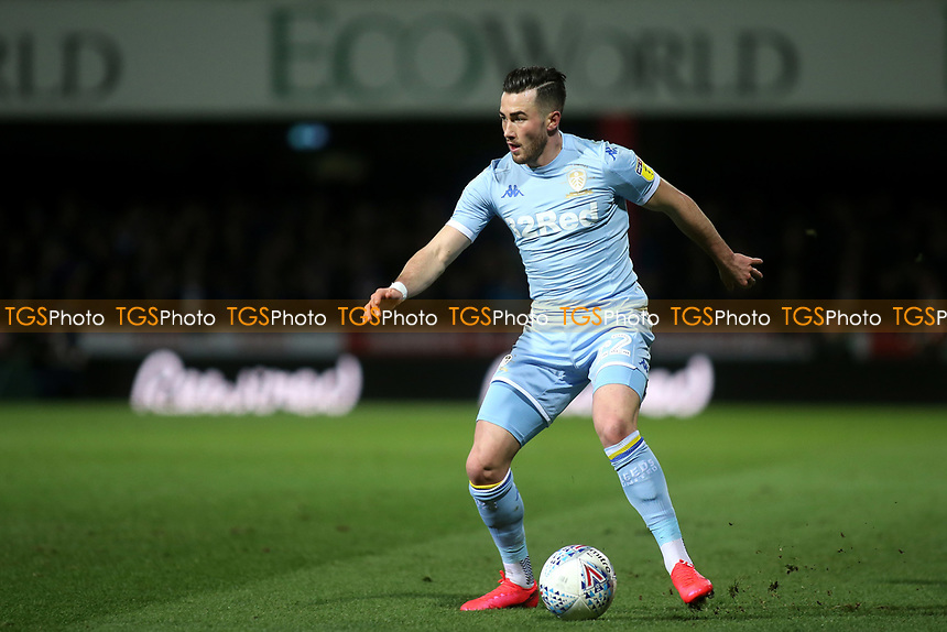 Jack Harrison of Leeds United in action during Brentford vs Leeds United, Sky Bet EFL Championship Football at Griffin Park on 11th February 2020