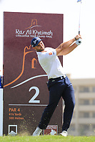 Adri Arnaus (ESP) during the final round of the Ras Al Khaimah Challenge Tour Grand Final played at Al Hamra Golf Club, Ras Al Khaimah, UAE. 03/11/2018<br /> Picture: Golffile | Phil Inglis<br /> <br /> All photo usage must carry mandatory copyright credit (&copy; Golffile | Phil Inglis)