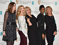 Amanda Berry, Natalie Dormer, Joanna Lumley, Letitia Wright and Jane Lush at the EE British Academy Film Awards (BAFTAs) Nominations Announcement, BAFTA, Piccadilly, London, England, UK, on Tuesday 09 January 2018.<br /> CAP/CAN<br /> &copy;CAN/Capital Pictures