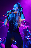 FORT LAUDERDALE, FL - OCTOBER 19: Huntress performs at Revolution on October 19, 2016 in Fort Lauderdale, Florida. Credit: mpi04/MediaPunch