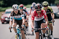 Thomas de Gendt (BEL/Lotto-Soudal) where he enjoys being most: up front / in the breakaway<br /> <br /> Stage 5: Grenoble > Valmorel (130km)<br /> 70th Critérium du Dauphiné 2018 (2.UWT)
