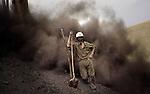 11 Mai 2005 - Mine de charbon, Kar-kar, Afghanistan.May 11, 2005 - Coal mine, Kar-kar, Afghanistan..