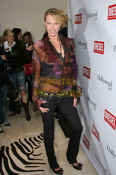 LESA AMOORE.The Young Hollywood Awards Countdown Party held at Liberace's Penthouse, Los Angeles, California, USA, 30 March 2006..full length lessa.Ref: ADM/ZL.www.capitalpictures.com.sales@capitalpictures.com.©Zach Lipp/AdMedia/Capital Pictures.