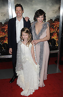 www.acepixs.com<br /> <br /> January 23 2017, LA<br /> <br /> Actress Milla Jovovich, husband/director Paul W.S. Anderson and daughter Ever Gabo Anderson arriving at the premiere of 'Resident Evil: The Final Chapter' at the Regal LA Live on January 23, 2017 in Los Angeles, California.<br /> <br /> By Line: Peter West/ACE Pictures<br /> <br /> <br /> ACE Pictures Inc<br /> Tel: 6467670430<br /> Email: info@acepixs.com<br /> www.acepixs.com