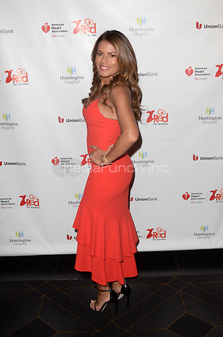 HOLLYWOOD, CA - MAY 17: Lisa Vidal at the American Heart Association's 3rd Annual Rock The Red Music Benefit at Avalon in Hollywood, California on May 17, 2018. Credit: David EdwardsMediaPunch