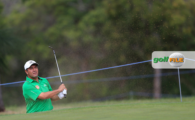 Ricardo Gonzalez (ARG) on the 16th during Round 2 of the ISPS HANDA Perth International at the Lake Karrinyup Country Club on Friday 24rd October 2014.<br /> Picture:  Thos Caffrey / www.golffile.ie