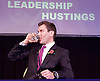 UKIP <br /> Leadership hustings <br /> at the Emanuel Centre, London, Great Britain <br /> 1st November 2016 <br /> <br /> the first leadership hustings before the election on 28th November 2016 <br /> <br /> <br /> <br /> John Rees-Evans<br /> <br /> <br /> <br /> <br /> <br /> Photograph by Elliott Franks <br /> Image licensed to Elliott Franks Photography Services