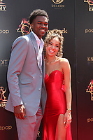 LOS ANGELES - MAY 5:  Lexi Stevenson, Boyfriend at the 2019  Daytime Emmy Awards at Pasadena Convention Center on May 5, 2019 in Pasadena, CA