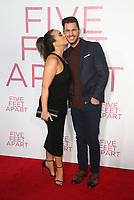 LOS ANGELES, CA - MARCH 7: Aijia Lise, Andy Grammer, at The Premiere Of Lionsgate's &quot;Five Feet Apart&quot; at The Fox Bruin Theatre in Los Angeles, California on March 7, 2019. <br /> CAP/MPI/SAD<br /> &copy;SAD/MPI/Capital Pictures