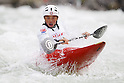 Kazuki Yazawa (JPN), APRIL 15, 2012 - Canoeing : 2012 Canoeing NHK Cup Slalom Competitions, Men's Kayak Single race  final at Ida River, Toyama, Japan. (Photo by Yusuke Nakanishi/AFLO SPORT) [1090]