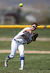 Western Nevada Wildcats' outfielder Makenzie Hospodka makes a play against North Idaho College at Edmonds Sports Complex, in Carson City, Nev., on Friday, April 18, 2014.<br /> Photo by Cathleen Allison/Nevada Photo Source