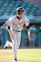 Bryce Harper - Scottsdale Scorpions - 2010 Arizona Fall League, Harper, the 2010 number one overall draft pick, plays against the Mesa Solar Sox at Hohokam Stadium, Mesa, AZ - 10/27/2010.Photo by:  Bill Mitchell/Four Seam Images..