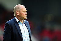 Bristol Rugby Director of Rugby Andy Robinson looks on during the pre-match warm-up. Greene King IPA Championship Play-off Final (second leg), between Bristol Rugby and Doncaster Knights on May 25, 2016 at Ashton Gate Stadium in Bristol, England. Photo by: Patrick Khachfe / JMP