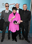 Liza Minnelli with Neil Meron & Craig Zadan.attending the Broadway Opening Night Performance of .'How to Succeed in Business without Really Trying' at the Al Hirschfeld Theatre in New York City.