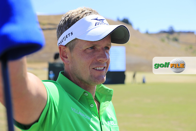 Luke Donald (ENG) during Wednesday's Practice Day of the 2015 U.S. Open 115th National Championship held at Chambers Bay, Seattle, Washington, USA. 6/17/2015.<br /> Picture &copy; Golffile/Eoin Clarke