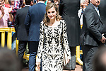 "Queen Letizia during award ceremony of literature in Spanish ""Miguel de Cervantes"" at University of Alcala de Henares in Madrid., April 20, 2017. Spain.<br /> (ALTERPHOTOS/BorjaB.Hojas)"