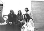 Led Zeppelin 1970 Robert Plant, John Paul Jones, John Bonham and Jimmy Page ......