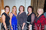 Margaret Riordain, Glenbeigh who celebrated her 60th birthday with her sisters in the Killarney Oaks Hotel on Friday night l-r: Ann McKenna, Katie O'Neill, Margaret Riordain, Geraldine Murphy, and Maureen Griffin