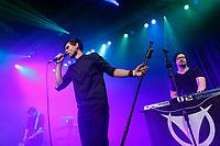 Borut Dolenec, Maj Valerij und Torul Torulsson von Torul live auf dem XIII. Amphi-Festival 2017 im Tanzbrunnen. Köln, 22.07.2017